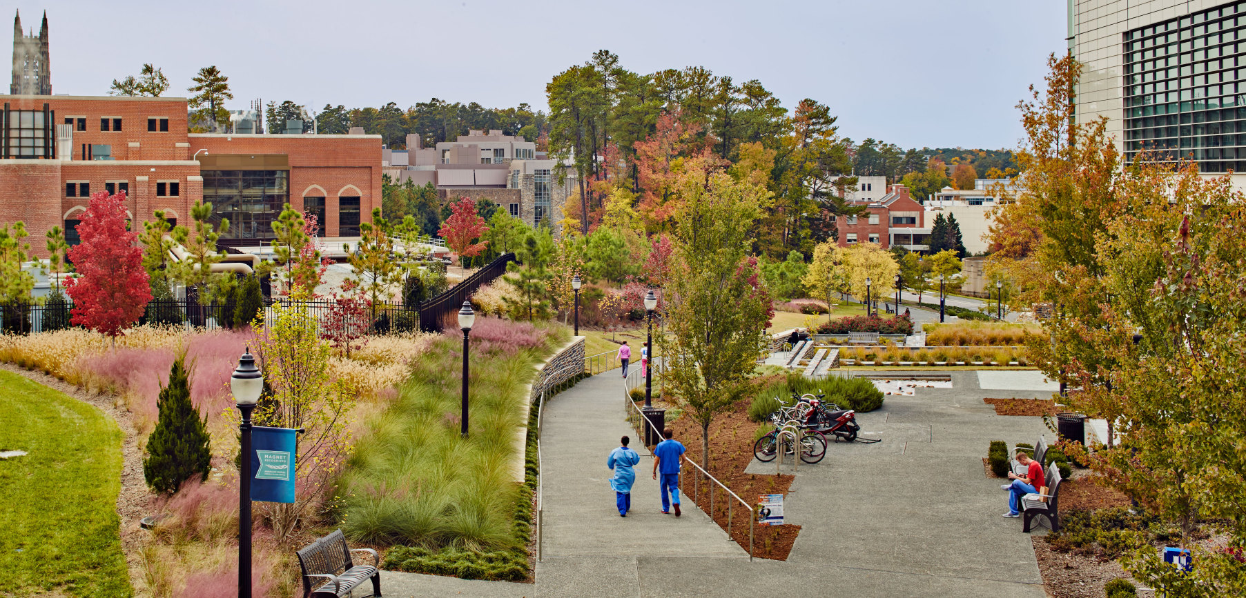 Duke University Learning Center Gibson Landscape