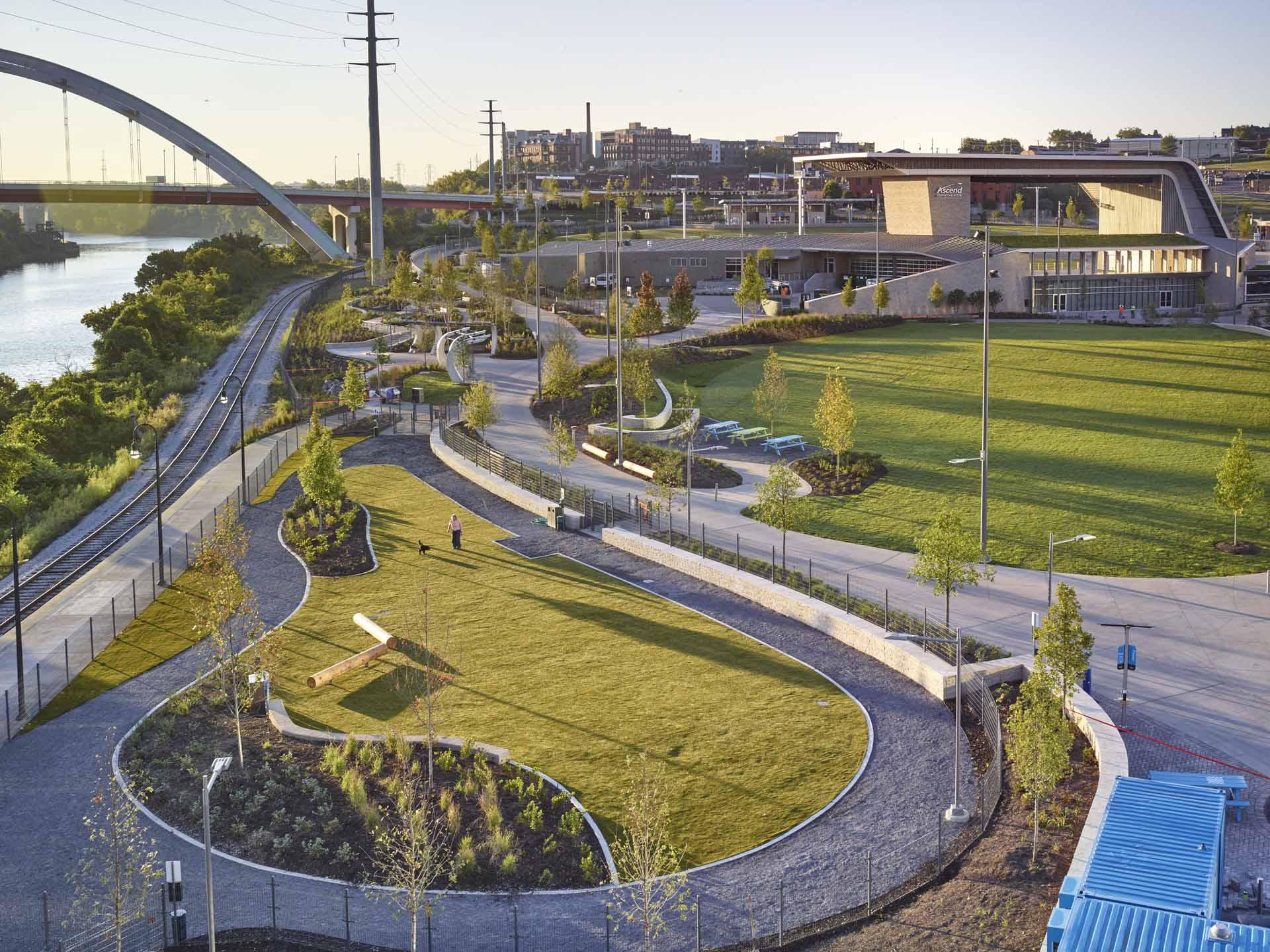 Landscape architect atlanta ga - West Riverfront Park